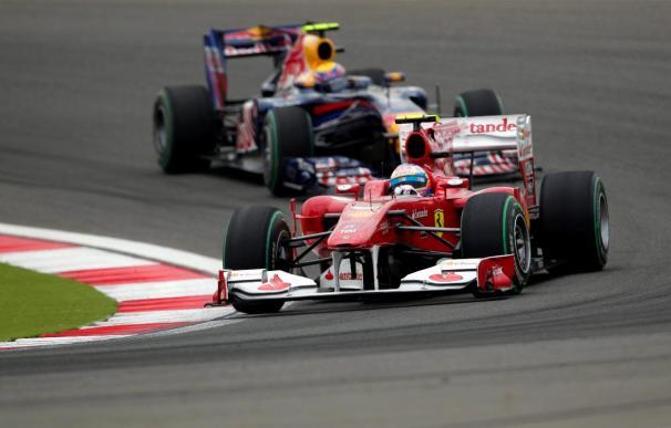 Webber y Hamilton parten desde primera línea y Alonso saldrá duodécimo