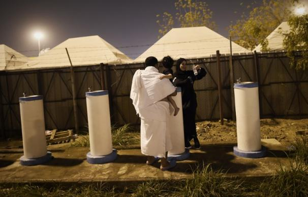 Las peregrinos pagan hasta 7.000 dólares para dormir en las tiendas cercanas a La Meca