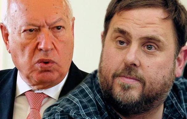Oriol Junqueras y José Manuel García Margallo