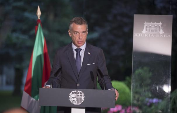 """Urkullu destaca que Euskadi """"goza de estabilidad gracias al acuerdo entre diferentes"""""""