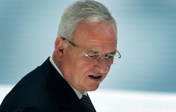 CEO of Volkswagen AG Martin Winterkorn is seen at