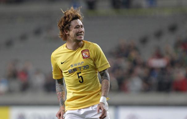 Zhang Linpeng, jugador del Guangzhou Evergrande