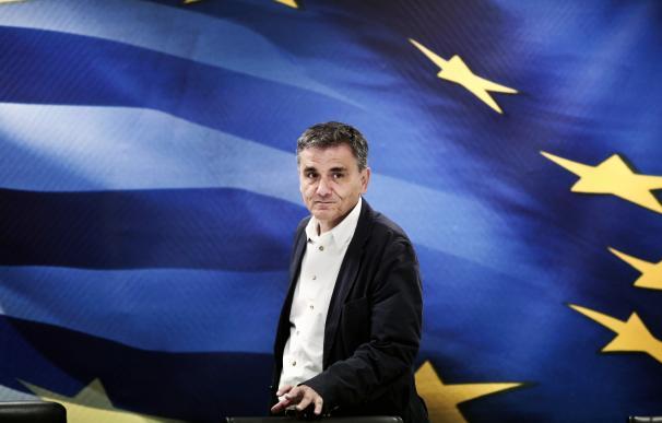 Former Greek Finance Minister Euclid Tsakalotos ar