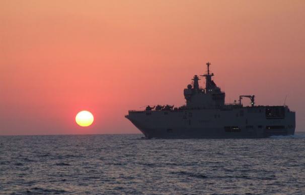Egipto se quedará los dos buques de proyección clase Mistral construidos originalmente para Rusia