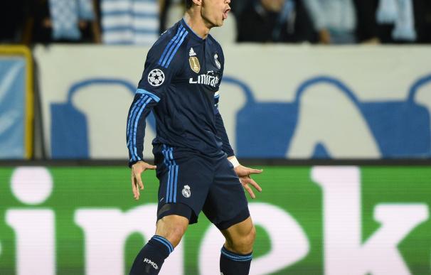 Cristiano igualó a Raúl como máximo goleador en la historia del Real Madrid.