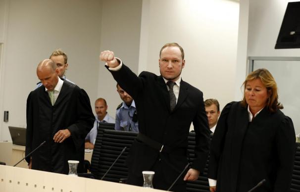 Breivik renuncia a recibir la herencia de su fallecida madre