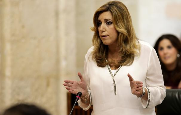 """Susana Díaz propone """"resetear el modelo del 78"""" sin poner en cuestión """"la unidad, la igualdad o la legalidad"""""""