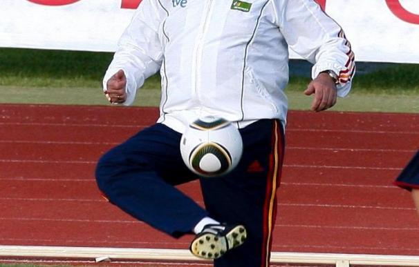 El seleccionador español comienza a trabajar el aspecto táctico