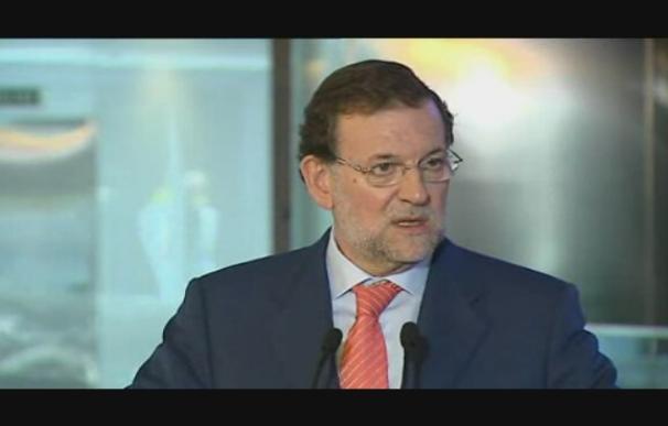 """Rajoy confía en hacer ahora un modelo energético """"sin prejuicios ideológicos"""""""