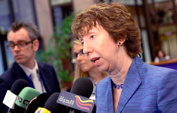 """Ashton asegura que las sanciones que la UE impondrá a Irán son """"completas"""""""