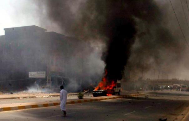 Un atentado suicida contra la sede de la televisión Al Arabiya en Bagdad causa seis muertos