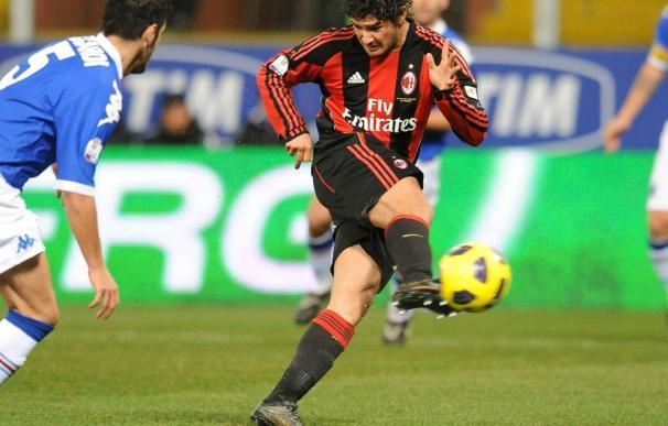 El brasileño Pato, baja en el Milan por lesión