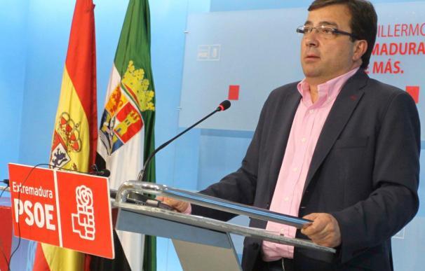 Fernández Vara dice que si fuera Zapatero se plantearía un adelanto electoral