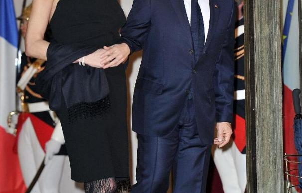 State Dinner At Elysee Palace Honouring South African President Jacob Zuma