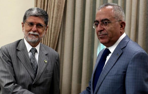 El ministro de Exteriores brasileño visita los territorios palestinos