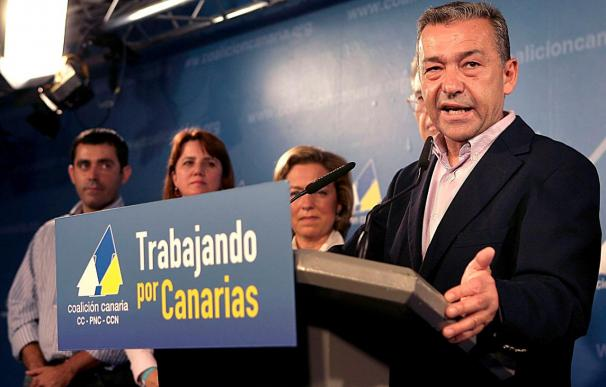Rivero: no hay ola que pueda con Coalición Canaria