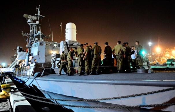 "La ""Flota de la Libertad"" se retrasa de nuevo y espera llegar mañana a Gaza"