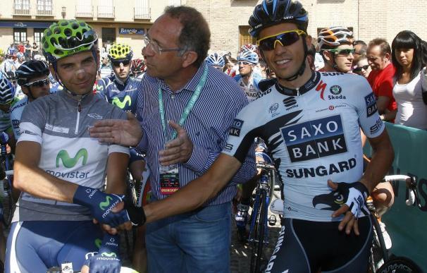 El 'Movistar Team' confirma que seguirá en el Giro de Italia tras la muerte de Xavi Tondo