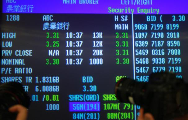 Hang Seng abre con ganancias del 0,62 por ciento, hasta 20.944,63 puntos