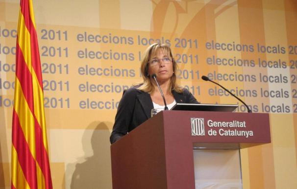 CiU obtiene 33 consejos comarcales, siete más que en 2007, con el 95,22% escrutado