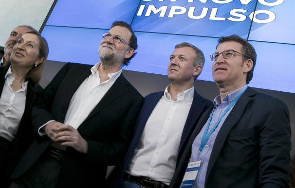 """Rueda se pone como objetivos la """"renovación territorial"""" y la """"recuperación"""" de la Diputación de Pontevedra"""