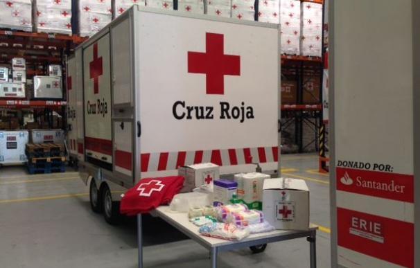 Cruz Roja Española va a desplegar dos puestos sanitarios móviles