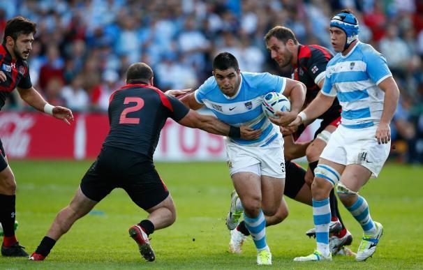 Mundial de Rugby: Argentina derrota a Georgia (54-9) y se acerca a los cuartos del final