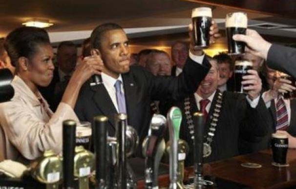 Obama visita la tierra de sus antepasados en Irlanda