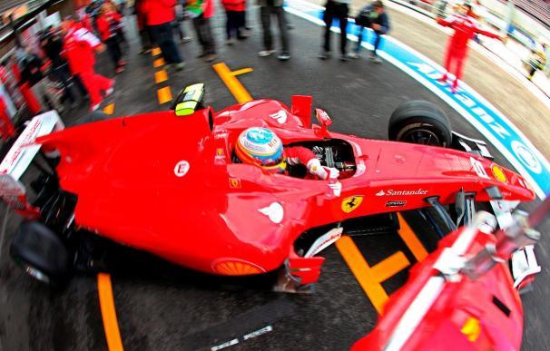 Webber y Hamilton en primera fila, Alonso en la quinta