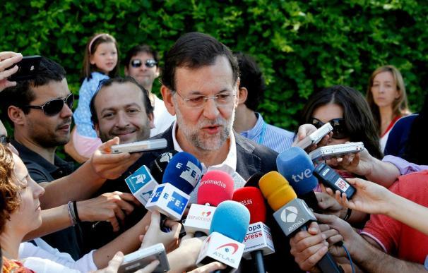 Rajoy y su dirección siguen la jornada con previsión de un gran resultado