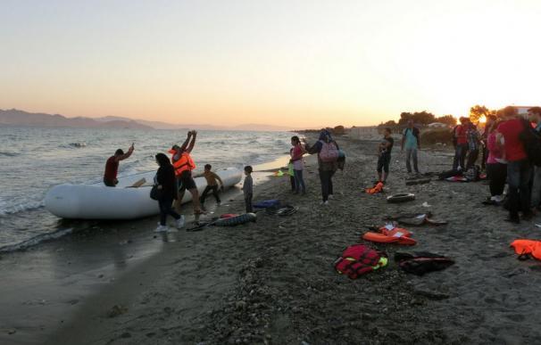 Varios refugiados llegan a las islas griegas/ (Cruz Roja)