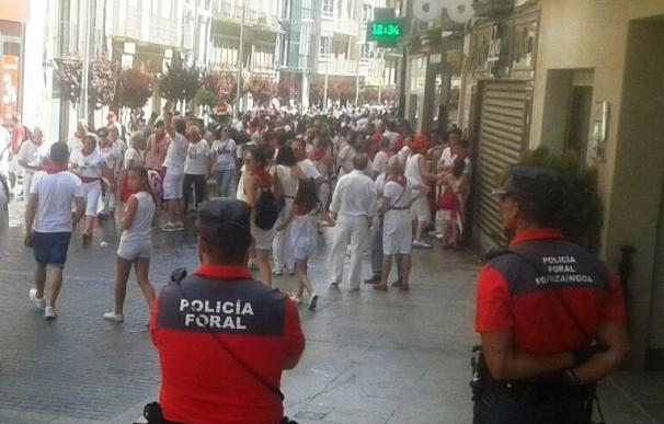 Disminuyen un 27% las denuncias penales en fiestas de Tudela