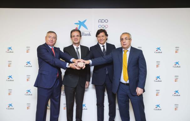 CaixaBank renueva el patrocinio del Plan ADO para el ciclo olímpico Tokio 2020