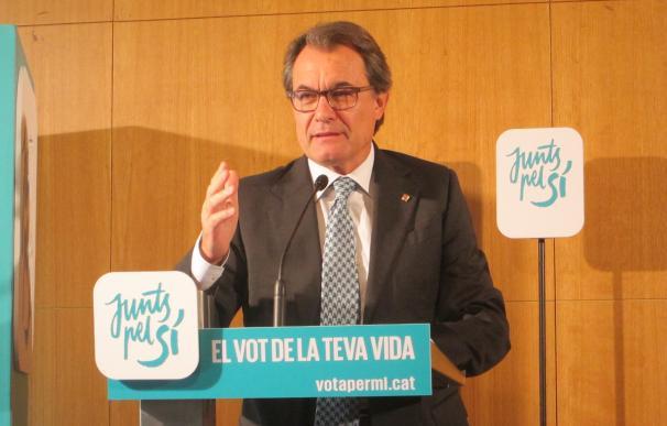 27S.- Mas dice que las pensiones crecerían hasta un 10% en una Cataluña independiente según la situación económica
