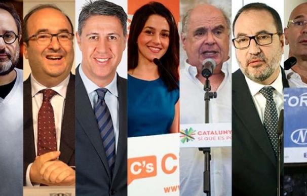 Los candidatos pasan el sábado con fotos y relax y la CUP hará actos fuera de Cataluña
