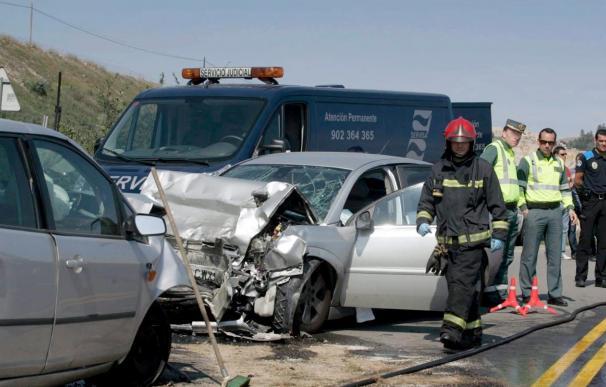 Mueren 10 personas en las carreteras durante el fin de semana