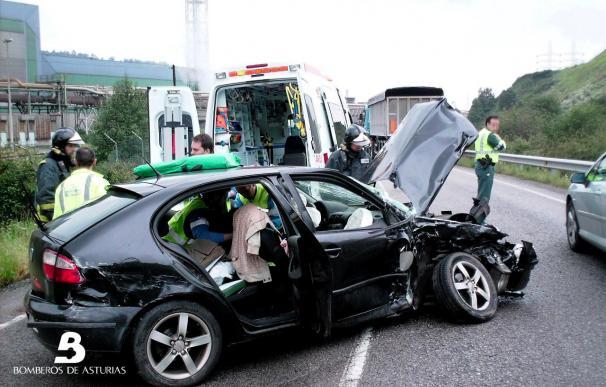 Mueren 11 personas en 9 accidentes de tráfico hasta la noche del sábado