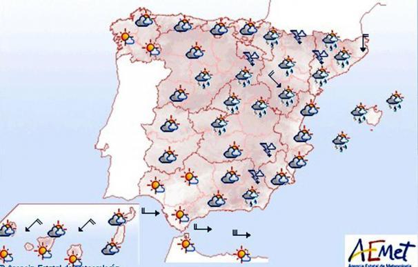 Mañana predominarán los cielos nubosos en gran parte del país