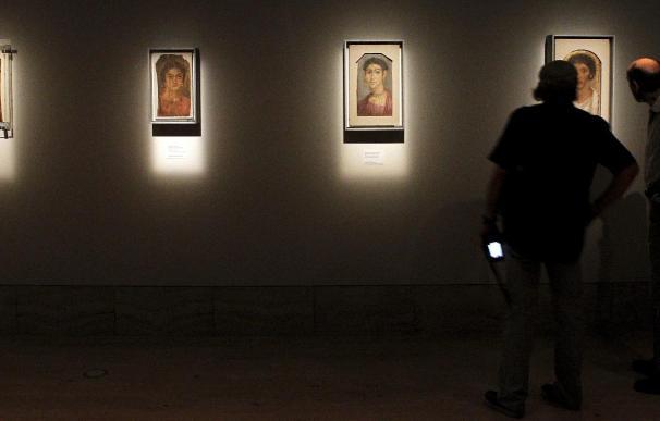 """Los retratos de Al Fayum, las primeras """"fotos de carné"""" de la historia"""