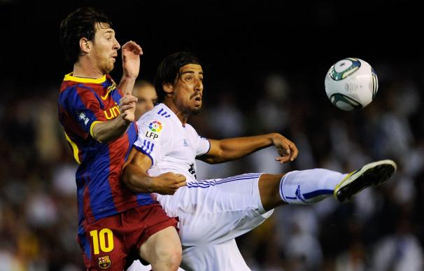 Khedira, en la final de la Copa del Rey Real Madrid - Barcelona