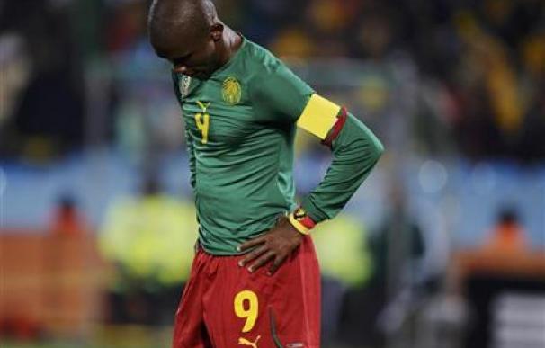Camerún es el primer equipo en caer eliminado en el Mundial