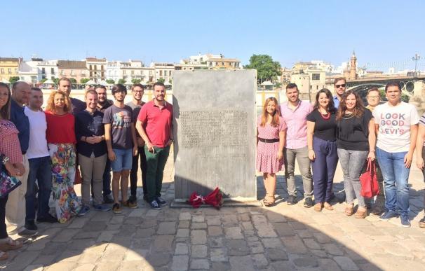 Acto del PSOE en el Monumento a la Tolerancia en recuerdo de las víctimas de la matanza de Utoya