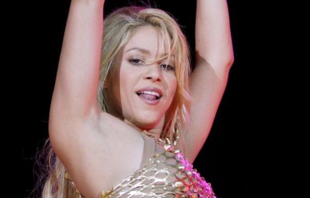 Shakira, colofón de la fiesta azulgrana con Piqué sobre el escenario