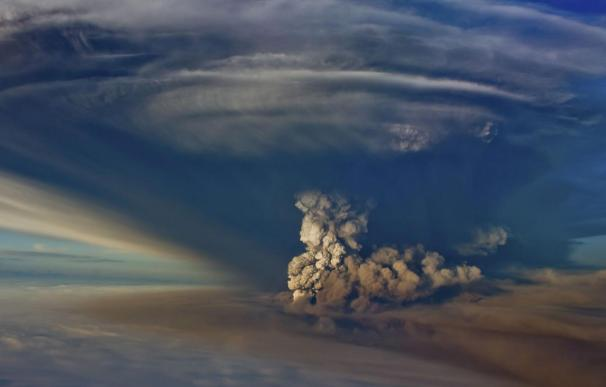 Erupción del volcán Grimsvoetn