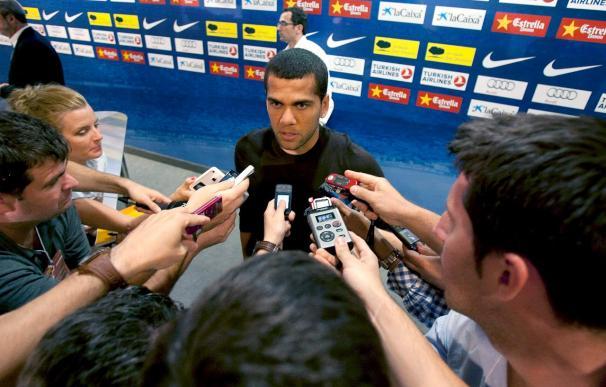 """Para el barcelonista Alves, el fútbol """"solo recuerda a los ganadores"""""""