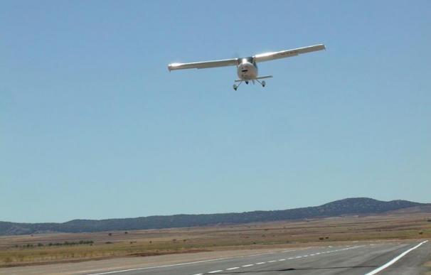 Dos trabajadores mueren en las obras del hangar del aeródromo de Teruel