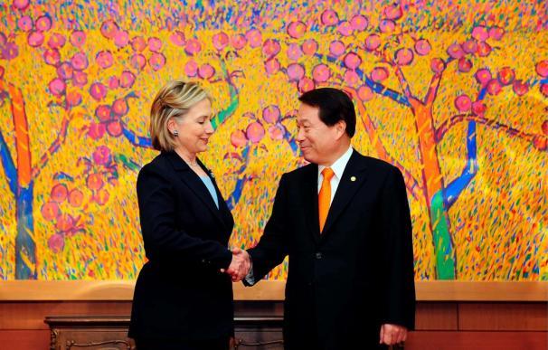 """EEUU reafirma su apoyo a Seúl y pide a Pyongyang que cese sus """"provocaciones"""""""