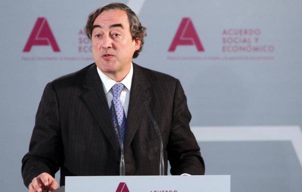 La Junta Directiva de la CEOE insta a Rosell a seguir negociando con los sindicatos