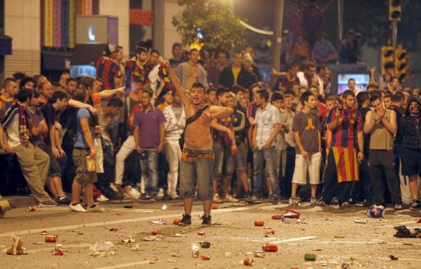 Un total de 89 heridos, 15 llevados a hospitales, en los incidentes en Barcelona