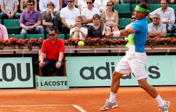Rafael Nadal vence con claridad al francés Gianni Mina